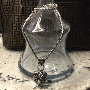 Samuel B Heart Necklace